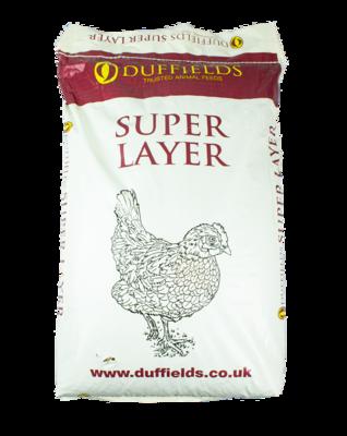 Duffields Super Layer 16 Pellets 20kg [Zero VAT]