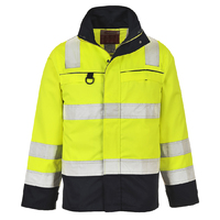 Portwest Hi-Vis Multinorm Jacket Hi-Vis Yellow/Navy