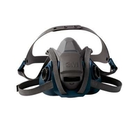 3M™ Rugged Comfort Quick Latch Half Facepiece Reusable Respirator (Large)