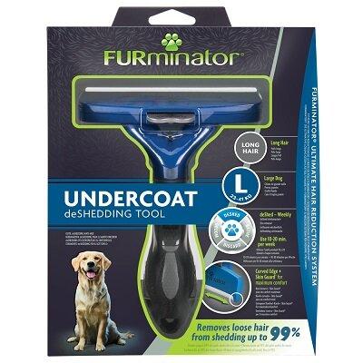 Furminator Large Long Hair Dog DeShedding Tool