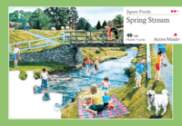 Adult Jigsaw Spring Stream