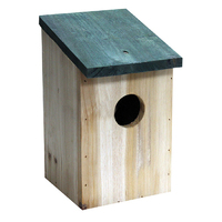 Kingfisher Wooden Bird Nesting Box - BF017 (BF017)