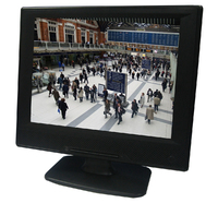 "Vigilant Vision 10.4"" Plastic Cased LED Monitor with BNC,VGA HDMI Inputs"