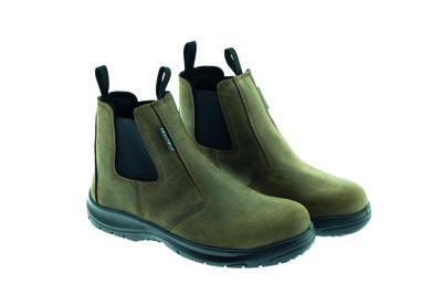 B-Light Brown S3 Dealer Boot