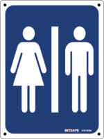 Mens/Ladies Toilet Sign