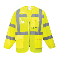 Portwest Hi-Visibility Executive Jacket Hi-Vis Yellow