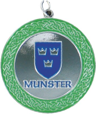 50mm Munster Medallion (Silver)