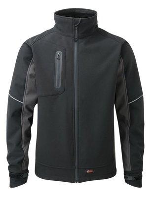 "TuffStuff Stanton Softshell Jacket Black/Grey X Large (48-50"")"