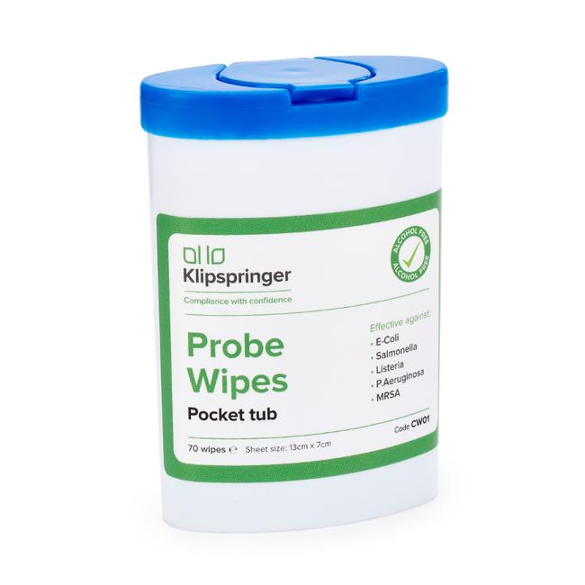 Pocket Wet Wipes Dispensing Tub X 70 Klipspringer