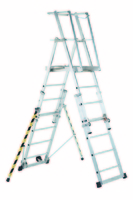 Sherpascopic Telescopic Platform Ladder - 3 to 4