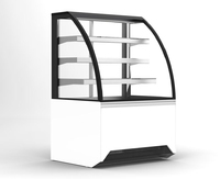 Display Case Chilled SelfServe/Solid Back 1650x770x1300mm