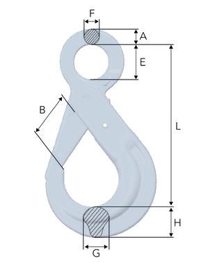 Gunnebo BK Eye Safety | Hot Dip Galvanised  Hook