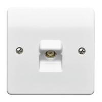 MK Single Coaxial Socket TV/FM Socket