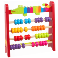 Children's wooden crocodile Abacus