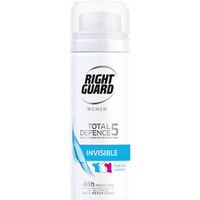 Right Guard Total Defence 5 Women Invisible Power Aero 50ml Travel Size