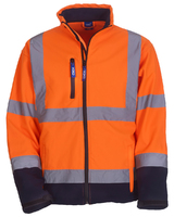 Yoko HVK09 Hi-Vis Softshell Jacket Orange