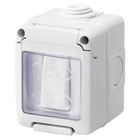 Gewiss 10A 1G 2 Way Waterproof Switch IP55