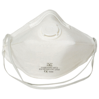 Standard valved Flat Fold P2 mask (20 per pack)