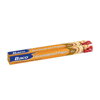 Baco Greaseproof Roll 380mm x 10m