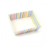 BOX / TRAY 26X26X10CM MULTICOLORED