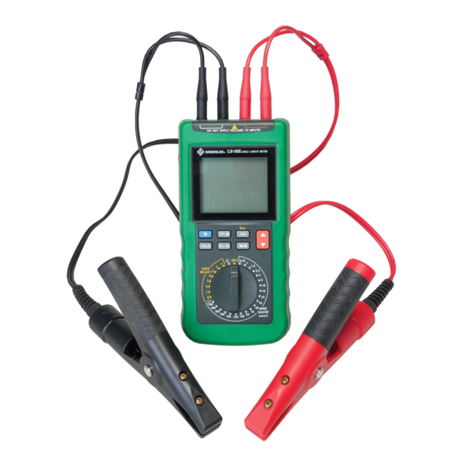Cable Measuring Device : Greenlee clm e cable measurment tool express