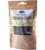 Hollings 100% Natural Wild Boar Strips 5-pack x 12