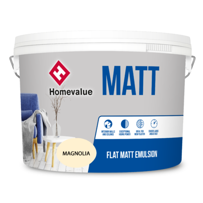 Homevalue Masonry Paint 10L Magnolia