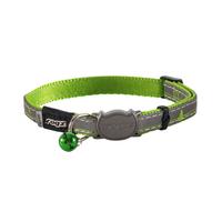 Rogz Nightcat Cat Collar - Lime x 1