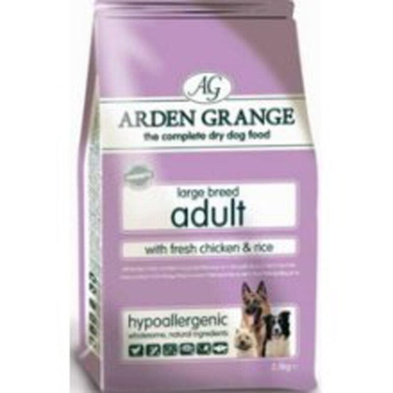 Arden Grange Chicken & Rice Large Breed Adult Dog Food 12kg