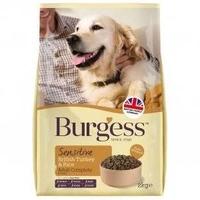Burgess Sensitive Adult Dog Turkey 2kg