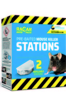 Racan Rapid Mouse Station 2-Pack x 1