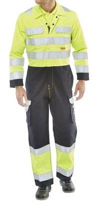 ARC Flash FR Ant-Static Two-Tone Coverall