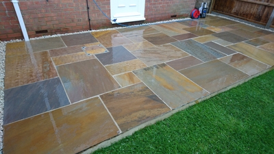 PANTHER SANDSTONE PATIO PACK 15.25M2 (48)