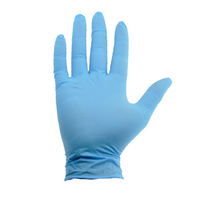 Bodytech Blue Latex Gloves, Lightly Powdered, 1000/Case