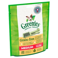 Greenies Original GRAIN FREE Dental Treats - Regular 170g x 1