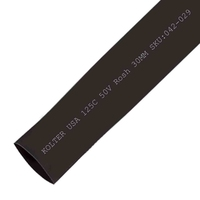 Heat Shrink | Black 30mm Diameter 50M Reel