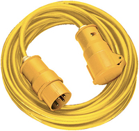 1168463 EXTENSION CABLE CEE 110V 14MT YELLOW H05VV-F 3G2,5