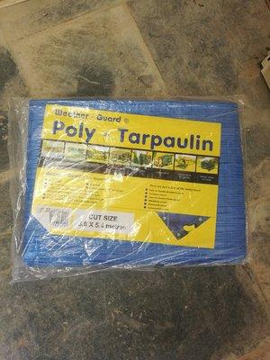 Tarpaulin sheet 5.4M x 7M