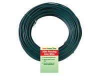Bosmere Wire Fencing Line Plastic Coated 3.5mm x 30m