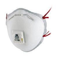3M 8833 Valved Dust/Mist Respirator FFP3 (10's)