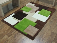 TEMPO - SQUARES - BROWN/GREEN