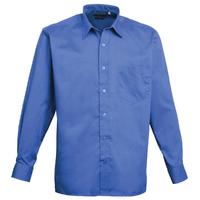Gents Premier Long Sleeve Poplin Shirt