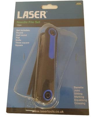 Laser 4256 Needle File Set 12Pieces Sureweld Dublin