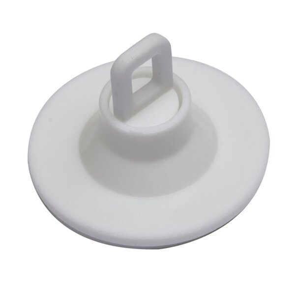 SHOPWORX Rotating Ceiling Buttons 40mm Self adhesive - White (Pack 100)