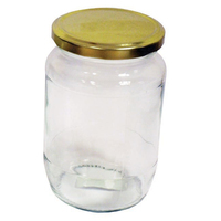 Pickling Jar with Gold Screw Top Lid 900gm/2lb (134V2)