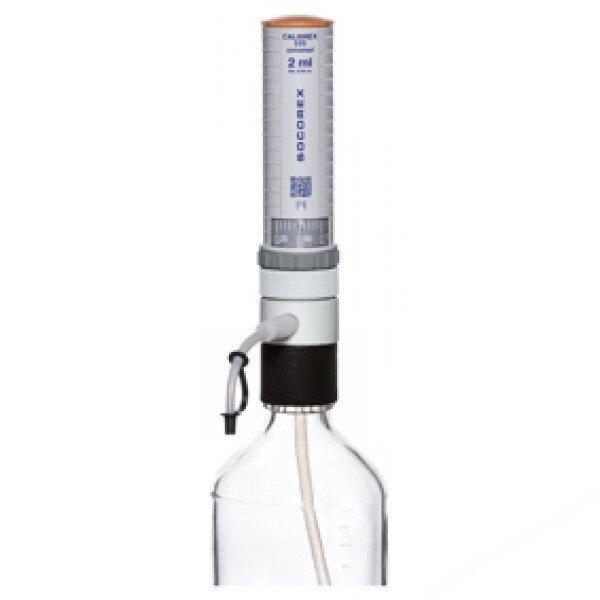 Bottle Top Dispenser, Socorex, 0.25-2ml X 0.0