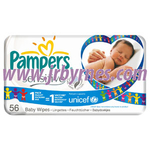 Pampers Baby Wipes Sensitive x12