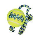 "Air KONG Squeaker Tennis Balls Medium 2½"" on Rope x 1"