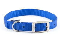"Ancol Nylon Buckle Collar Blue 16"" x 1"