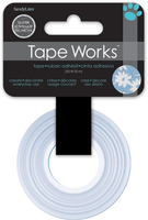 Tape Glitter Blue Floral (Priced in singles, order in multiples of 4)